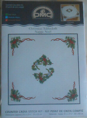 DMC Christmas Tablecloth kit  80 * 80 cms