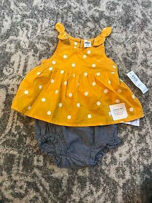 NWT Old Navy Baby 2 Pc Set 3-6 Months Outfit