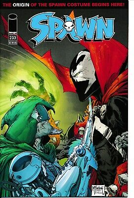 Spawn #233 (2013 Image) NM Todd McFarlane Variant Kudranski Origin of Costume