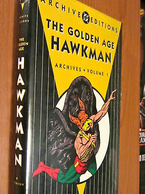 HAWKMAN Golden Age Archives NEW SEALED HARDCOVER Archive Edition FLASH COMICS DC