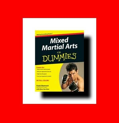 ☆Book:mixed Martial Arts For Dummies-Mma Fighting Styles+Training Techniques%+Mo