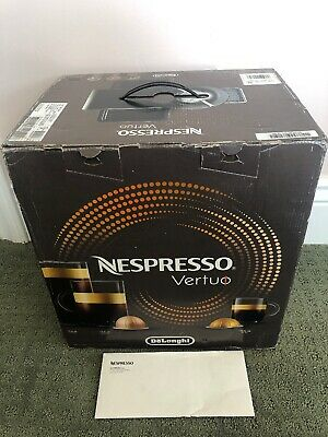 DeLonghi  Nespresso Vertuo Coffee and Espresso Machine Black- FREE Descaling Kit