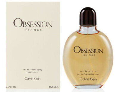 OBSESSION by Calvin Klein 6.7 oz 6.8 edt men 200 ml Cologne New in Box
