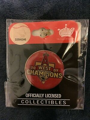 2009 Los Angeles Angels Of Anaheim West Champions Pin