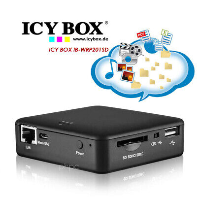 ICY BOX 4 in 1 WLAN Storage Station IB-WRP201SD