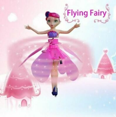 New Flying Fairy Princess Dolls Magic Infrared Induction Control Toy Xmas Gift