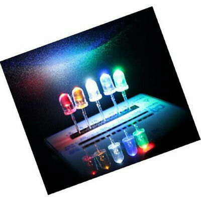 200 Pcs LED Light Assortment Diodes Kit Fittings For DIY Electrical Appliance