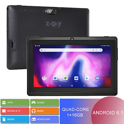 "XGODY Newest Android 6.0 Kids Tablet PC 9"" inch Quad-Core 1+16GB Dual Camera IPS"
