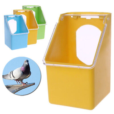 Oiseau Perroquet Bol Tasses Pigeons Animal Cage Sable Coupe Mangeoire