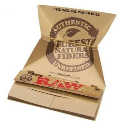 Raw Classic Artesano King Size Slim Rolling Papers+Tips+Tray smoking tobacco