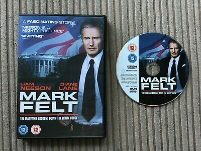 Mark Felt The Man Who Brought Down The White House DVD 2018 Liam Neeson