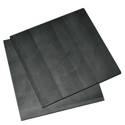 5 Pack 99.99% Pure Graphite Electrode Rectangle Plate Sheet Decor Set 50*40*3mm