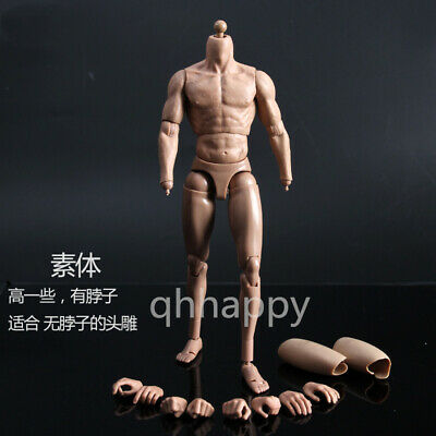 In-stock 1//6 Scale ZCTOYS B007 Male Body Slim Shoulder Higher Ver BW//Neck