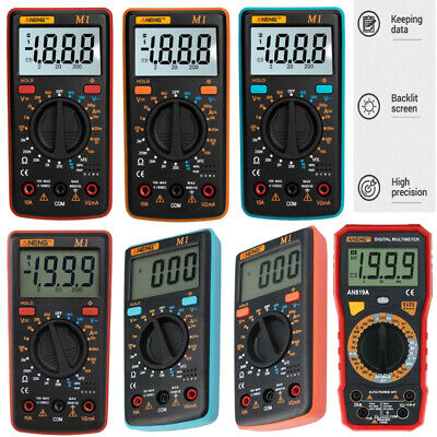 ANENG LCD Display Digital Multimeter AC/DC Voltage/Current/Resistance/NCV Meter#
