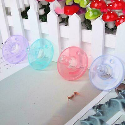 Orthodontic Dummy Pacifier Infant Silicone Teat Nipple Soother Baby Newborn E5D4