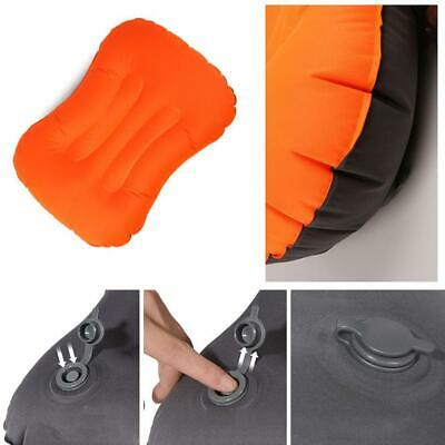Inflatable Camping Pillow For Travel Hiking Backpacking Fishing Hunting Fav D5D2