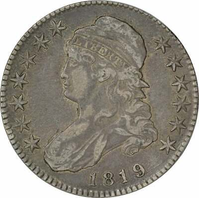 1819 Bust Half Dollar, EF, Uncertified