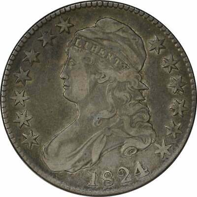 1824/Various Date Bust Half Dollar, Choice VF, Uncertified