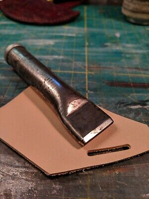 """Rampart Tool Co. 1"""" Oblong Oval Leather Bag Punch"""