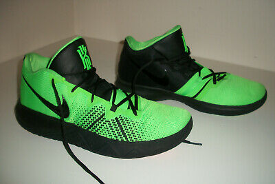 low priced 8df1a fd9bf NIKE KYRIE IRVING 4 Halloween Black Rage Green SIZE 10 New ...