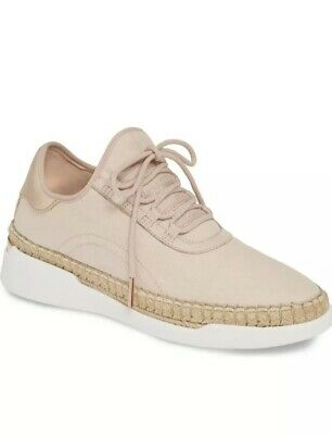 Nib Michaelkors Finch Lace-Up Sneakers In Soft Pink/ Rose Gold