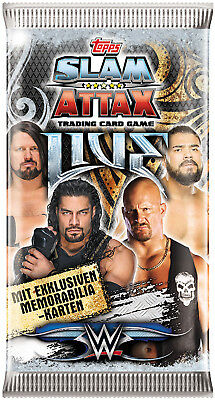 Topps - Wwe Slam Attax Live - 1 Booster