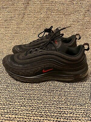 Details about Nike Air Max 97 Black University Red Bred Reflective Logos Japan AR4259 001