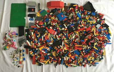 Huge Lot Of Lego 16 Lb Pounds + Lot Of Bricks Parts Assorted Pieces Minifigs