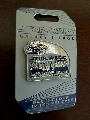 Disney Star Wars Galaxy's Edge Black Spire Outpost Passholder Limited Rel Pin