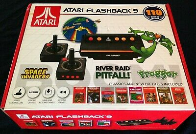 Atari Flashback 9 Classic Console w/110 Built-In Games ~2 Controllers