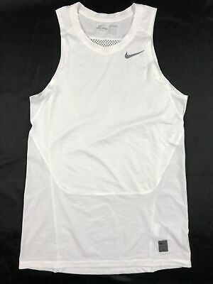 NEW Nike - White Compression  Sleeveless Shirt (Multiple Sizes)