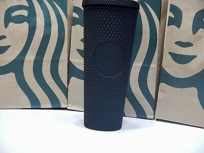 Starbucks Fall 2019 Matte Black Studded Tumbler Cup Limited Edition New