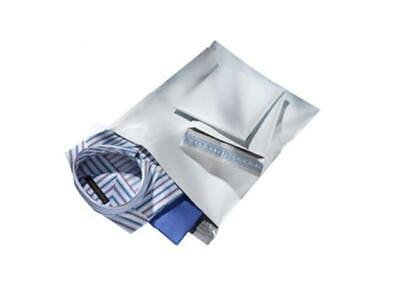 25 14.5x19 WHITE POLY MAILERS ENVELOPES BAGS 14.5 x 19