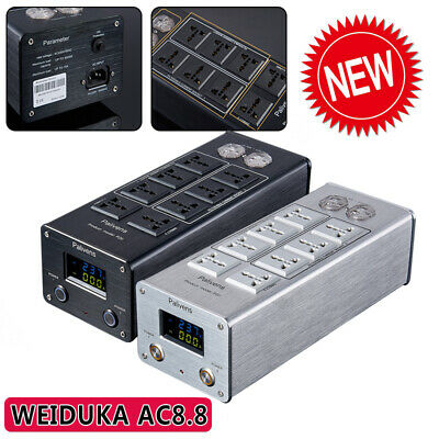 Weiduka AC8.8 Audio Power Filter Lightning Protection Socket Double Display
