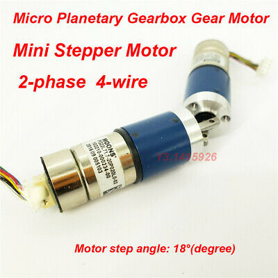 MOONS Mini 22mm 2-phase 4-wire Stepper Motor Micro Planetary Gearbox Gear Motor