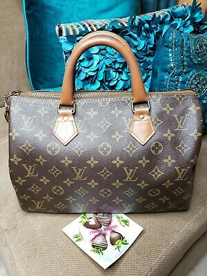 Authentic Louis Vuitton Rare French Co Speedy 30