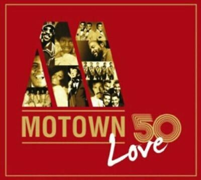 MOTOWN 50 LOVE various artists (3X CD, compilation) soul, very good condition,