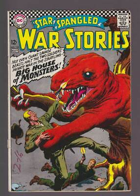 Star Spangled War Stories # 132  Big House of Monsters ! grade 4.5 scarce book !