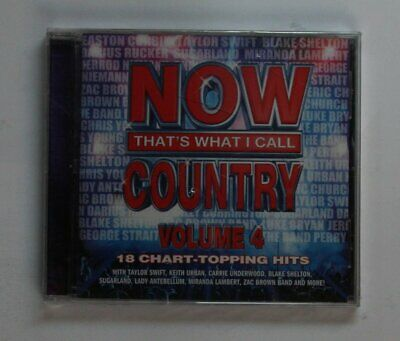 Now That`s What I Call Country Vol. 4 US CD 2011 Taylor Swift Keith Urban