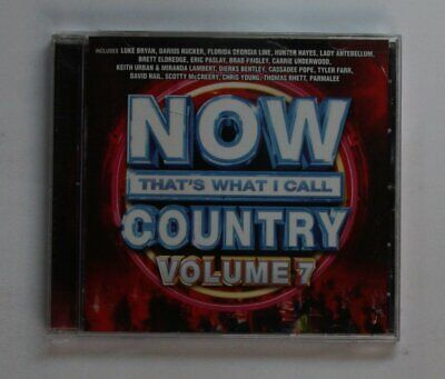 Now That's What I Call Country Vol. 7 US CD 2017 Lady Antebellum Keith Urban