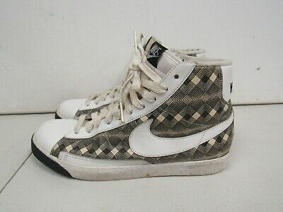 best website 2308e e7c18 WOMENS NIKE BLAZER High Top Black White 317808-113 Size 9.5M R367K