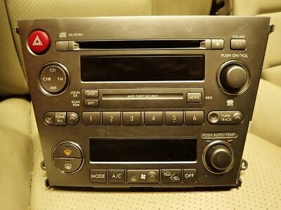 Subaru Legacy Outback gen 4 2003-2006 Kenwood Integrated Radio CD Player