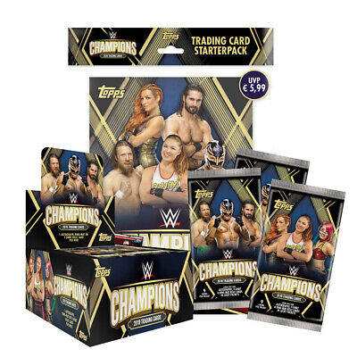 Topps - Wwe Champions 2019 - Trading Cards-Display,Starter,Booster to the Search