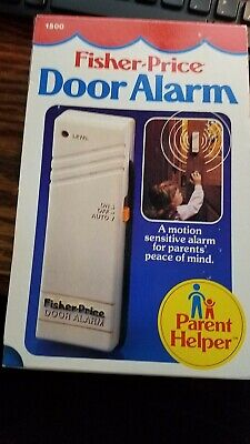 Fisher-Price door alarm a motion-sensitive alarm for parents peace of mind