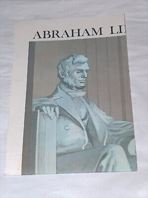 1970 Abraham Lincoln's Gettysburg Address Reproduction co US Disabled Vererans