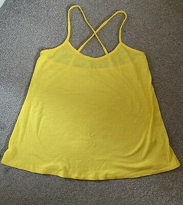 Ex River Island Double Strap Cross Back Cami Top Size 6-18