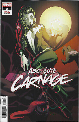 ABSOLUTE CARNAGE 2 (of 4) 1:25 KRIS ANKA CULT OF VARIANT IN HAND!
