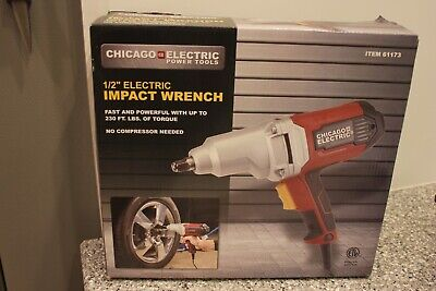 """CHICAGO ELECTRIC 1/2"""" Heavy Duty Electric Impact Wrench"""