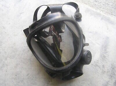 3M 7800S-L Full-Face Respirator Mask Prop Halloween Breaking Bad Latex USED