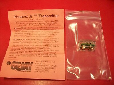 NEW CEJAY Engineering Phoenix Jr IR Transmitter Strobe Infrared Beacon NVG